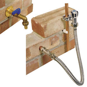 outdoor complete garden tap diy fitting kit set new uk stock ebay